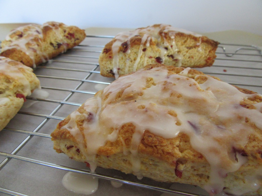 Lemon Cranberry Scones 010