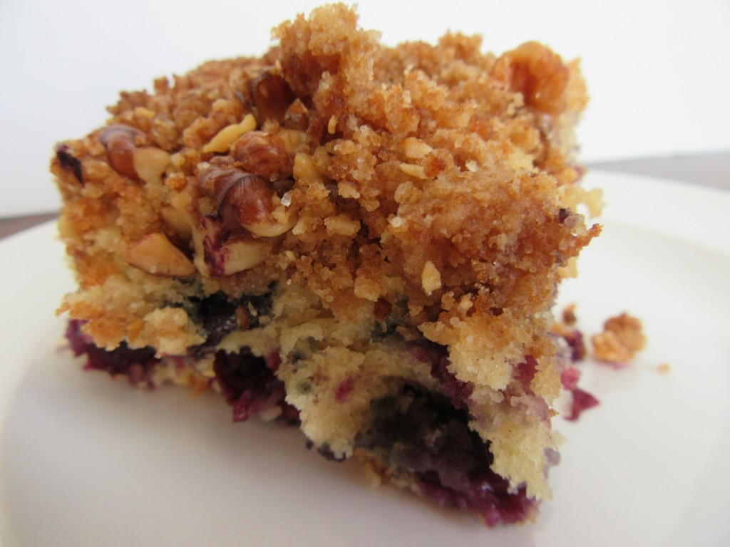 Blueberry Walnut Cumb Cake