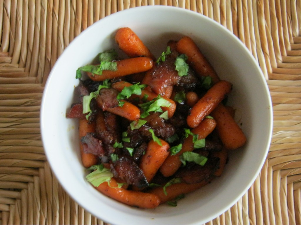 Honey Roasted Carrots and Ham 002