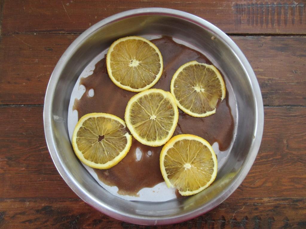 Orange Almond Polenta Cake 005
