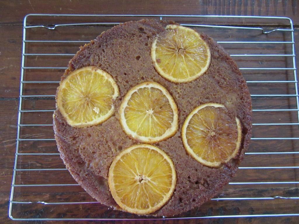 Orange Almond Polenta Cake 009