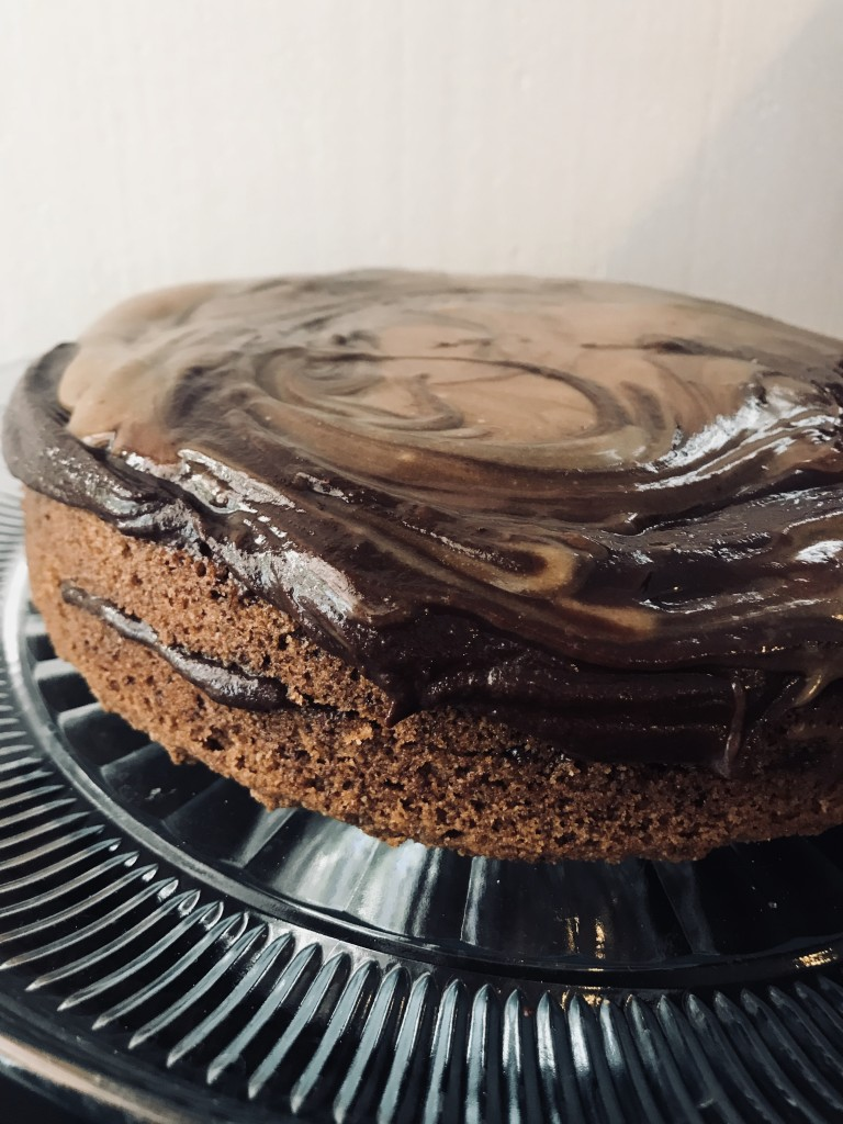Paleo Chocolate Caramel Cake